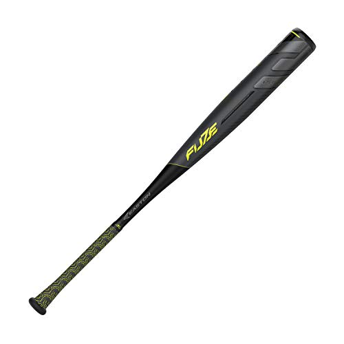 EASTON Project 3 Fuze -3 BBCOR Baseball Bat | 33 inch / 30 oz | 2019 | 1 Piece Aluminum | Carbon-Core | ATAC Alloy | Power Boost Knob | VRS COR | Composite End Cap Aluminum Carbon Baseball Bat