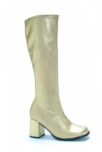 Ellie Shoes Women's Gogo Boot, Gold, 8 M US by Ellie Shoes