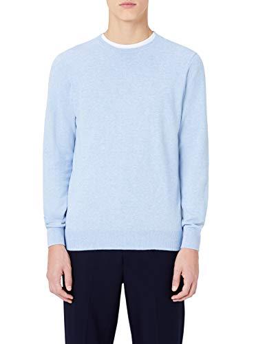 Bleu Ras Avec Blue Homme Coton En Du Col Meraki ocean Cou Pull qwAYHOz