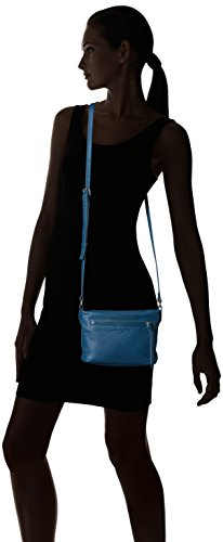 Berlin Pocket Front Broadwayf8 Denim Liebeskind Leather Crossbody Women's Blue with qxnwAnf7d