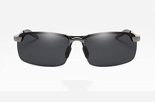 ブロック温かい悪性メガネ?サングラス サングラス/クールなライディングサングラス/メンズ偏光サングラス (色 : 2)