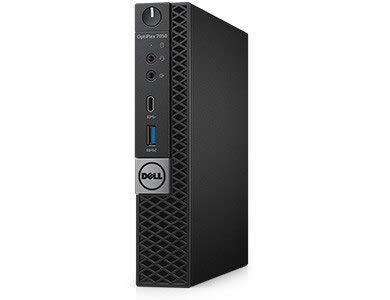 Dell OptiPlex 7050 | Intel i5-7500T Quad Core | 16GB DDR4 | 256GB SSD | Dual Band Wireless AC Bluetooth | Win 10 Pro | Micro Tower (Renewed)
