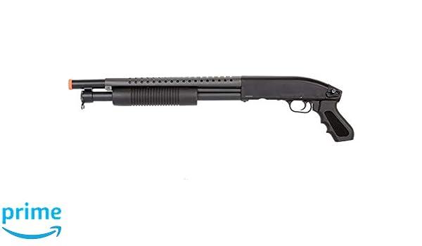 Amazon com : Double Eagle Airsoft Shotgun Metal with