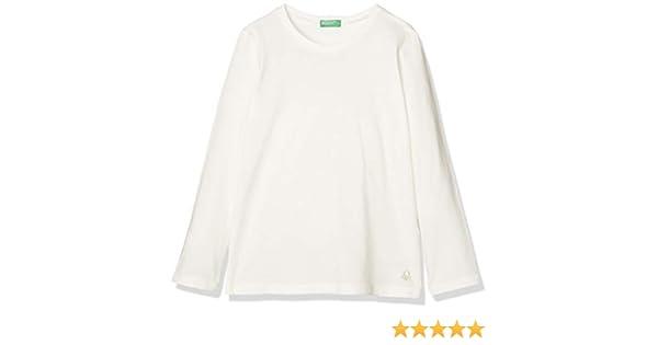 United Colors of Benetton Basic G2 Camiseta de Tirantes, Blanco (Bianco Panna 074), 170 (Talla del Fabricante: XX) para Niñas: Amazon.es: Ropa y accesorios