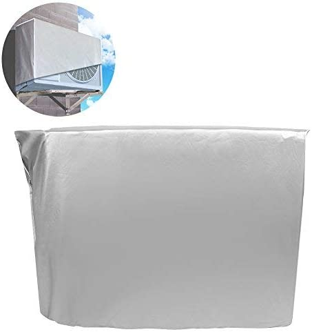 Zerodis Outdoor Air Conditioner Cover Waterproof Air Conditioner Dust Cover for Home (94 * 40 * 73cm)