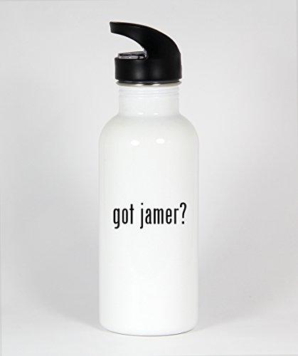 got jamer? - Funny Humor 20oz White Water Bottle