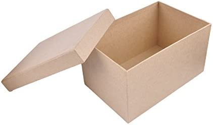 MP PD202 - Juego de 5 cajas scrapbooking rectangulares: Amazon.es: Oficina y papelería