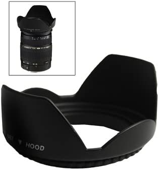 Screw Mount yangj Black HEGGWEI 67mm Lens Hood for Cameras