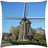 Mill Edam Netherlands - Throw Pillow Cover Case (18