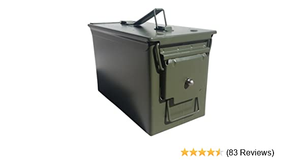 Acm New Milspec 50 Cal Ammo Can With Locking Hardware Fifasteluce Com