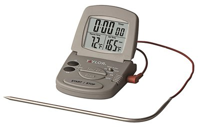 Taylor Classic Digital Oven Thermometer Meat 32 Deg F To 392 Deg F 4ft. Taylor Classic Oven Thermometer