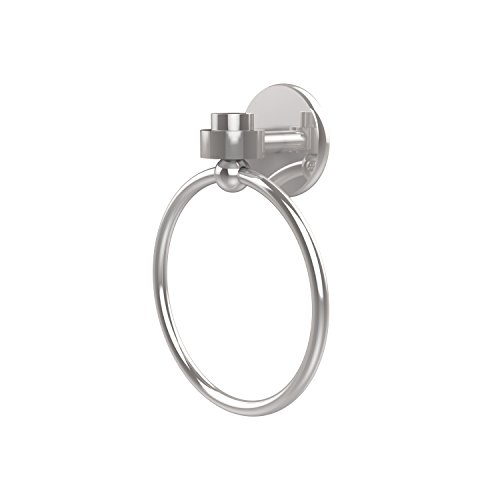 - Allied Brass 7116-PC Satellite Orbit One Collection Towel Ring Polished Chrome