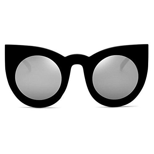 Cadre Soleil Élégant Surdimensionné Femmes Hibote Uv400 De Eye Lunettes C5 Grand Cat 8ESW4p