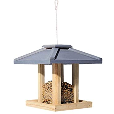 Transparent bird feeder Bird Table Free Standing Hanging Decoration For Outdoor Patio Weatherproof Country House Design For Easy Cleaning & Refills Large Premier Bird Feeder Suction cup outdoor bird h