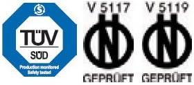 /e-gepr/üft MELCHIONI/ /Schneeketten f/ür Transporter Gr/ö/ße 255//55/R20/