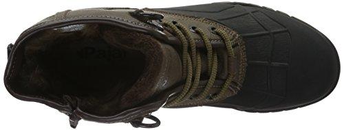Dark Black Ankle Black Boots Pajar Men's Sander Brown qxYFRF
