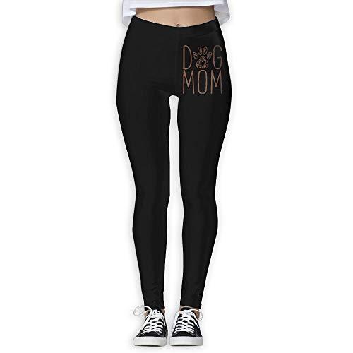 NO2XG Dog Mom Women's Full-Length Yoga Leggings Sports Yoga Sleep Pants by NO2XG