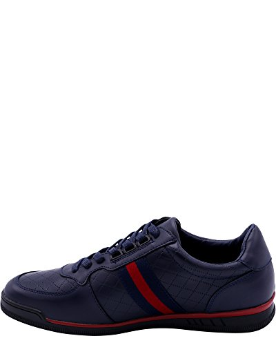 Beverly Hills Polo Club Menns Murano Sneaker Navy / Red