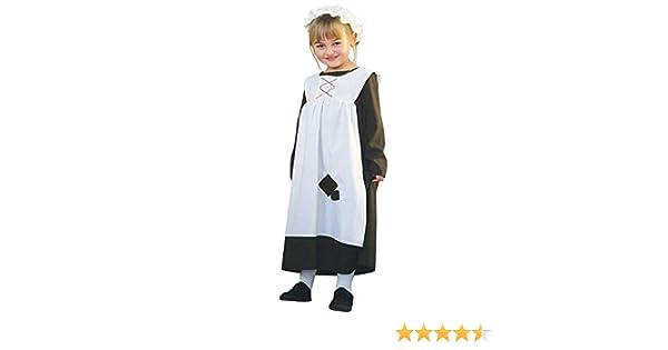 Ursula - Disfraz de criada para niña, talla 9-11 años (UUG9 ...