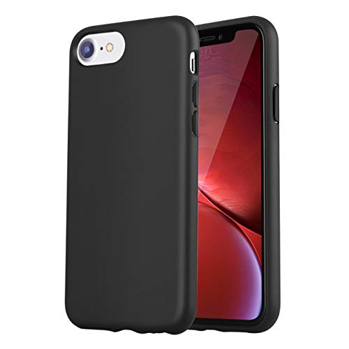 iPhone 7 Case/iPhone 8 Case,iPhone 6/6s Case,Manleno Slim Fit Full Coverage 1.5mm Shockproof Protective Matte Cover Flexible TPU Rubber Case for iPhone 6/6s/7/8 4.7