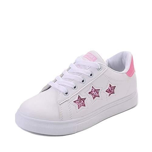 Scarpe rosa Estate Primavera piatto da blu poliuretano nero Comfort Tacco donna ZHZNVX PU Pink Sneakers 1qOp1d