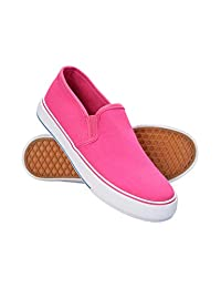 Mountain Warehouse Canvas Kids Slip On Shoes - Childrens Footwear