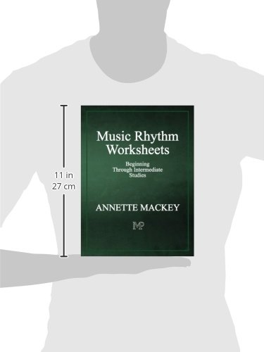 Music Rhythm Worksheets: Annette Mackey: 9780983610434: Amazon.com ...