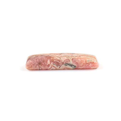 20crats Natural Rhodochrosite Stone, Rhodochrosite Crystals Gemstones Cabochons, DIY Jewelry Making, Loose Crystals Suuplies, Wire Wrapping, Chakra Healing Crystals, Energy Stone, Pendant Stones