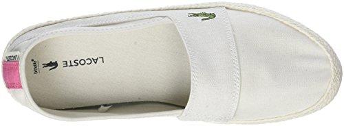 Lacoste Off Wht 218 Caw 06c Mujer Pnk Blanco Zapatillas Marice 1 para gr8WzqgR