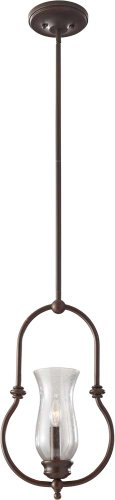 Feiss P1268HTBZ Pickering Lane Pendant Lighting, 1, Heritage Bronze