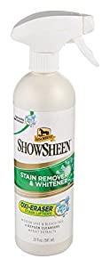 Absorbine ShowSheen Stain Remover and Whitener, 20 Ounce