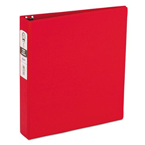 Avery 03410 Vinilo Rojo - Carpeta de cartón (Vinilo, Rojo, Letter, 275 hojas, 3.81 cm)