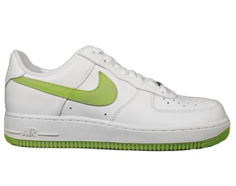 Nike Air Force 1 '07 White/Electric Green Mens Shoes 315122-109