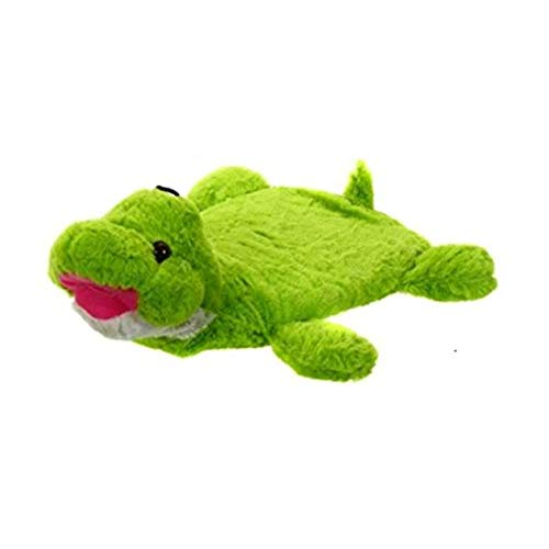Generic Hot Water Bottle Green Plush Turtle Animal Soft Cover Heating Pad Heat Bag Hot Compress