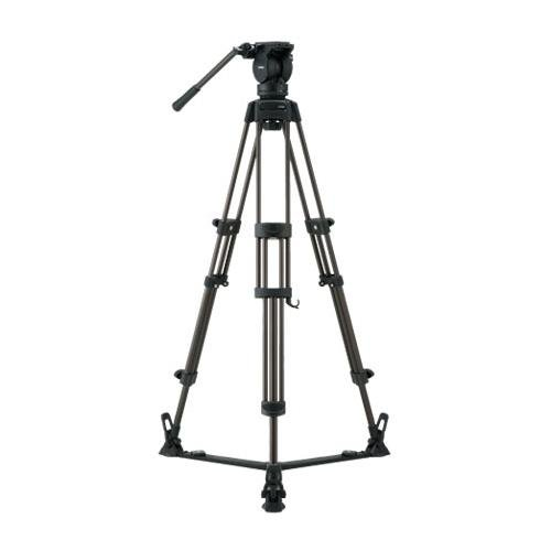 Libec LX7 Tripod System with Floor Spreader and Case, 75mm Ball Diameter, 8 kg/17.6 lb Load Capacity by Libec