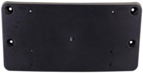 - CPP Front Black License Plate Bracket for Mercedes-Benz C-Class MB1068110