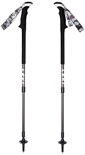 Leki Carbon Lite Trekking Stick - Black, 100-135 cm by Leki