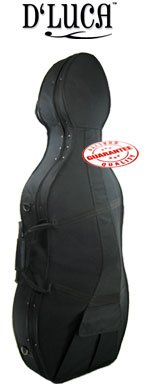 D'Luca Featherweight Cello Protective Hard Case 3/4 D'Luca 4334265266