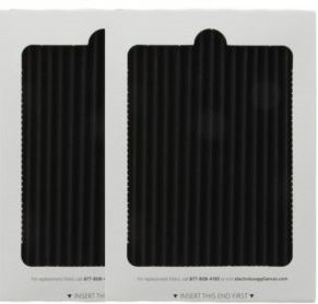 2 Replacement Frigidaire Pure Air Ultra Refrigerator Air Filters, Also Fits Electrolux, Compare to Part # EAFCBF PAULTRA 242061001 241754001, CB-9101
