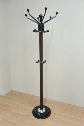 Cesteria Vallada - Perchero metalico, medidas 180 cm, color marrón