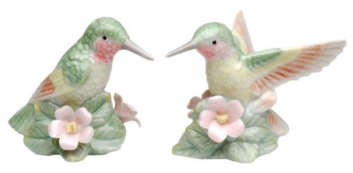 (Hummingbird Bird S/P Salt & Pepper Shakers New)
