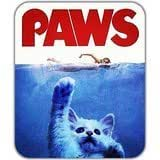 NEW Cool Lovely Cute Cat Kitten Paws Adorable Jaws Parody Mouse Pad Mousepad Mat
