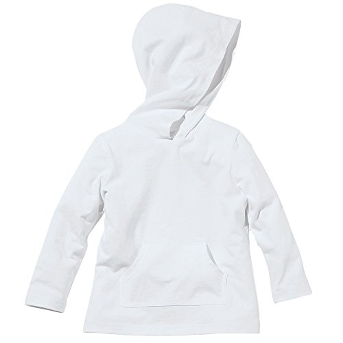 White Insect Shield Hooded Fleece Sweatshirt by Bug Smarties, Toddler Size 3T