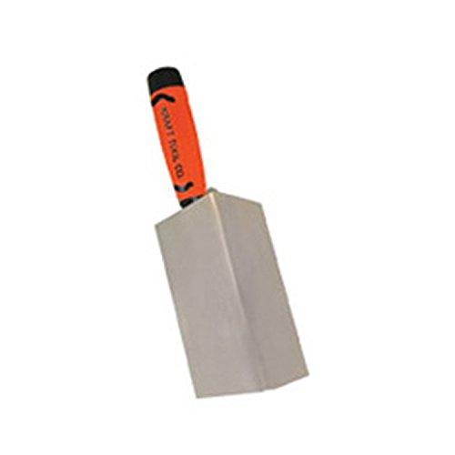 Kraft Tool PL580PF Stainless Steel 90-Degree Inside Corner Trowel with ProForm Handle, 3-1/8 x 1/2-Inch