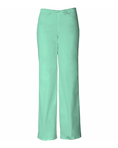 Everyday Scrubs Signature by Dickies Unisex Drawstring Pant Small Petite Mint Shell by Dickies