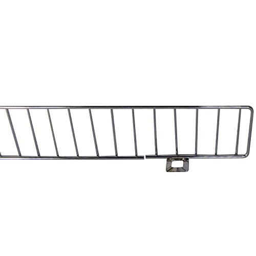 AWP CA-FDF348CN-2 Chrome Front Fence Streater, 3 x 48 Size, Chrome, (Pack of 25) by AWP (Image #1)