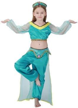 WSJDE Vestido de Navidad para niños Lámpara de Aladdin Disfraz de ...