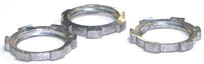 1/2-14 Conduit Locknuts/Steel/Zinc / 1,000 Pc. Carton