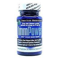 BioSciences américains - ImmPower AHCC 30 vcaps (pack de 6)