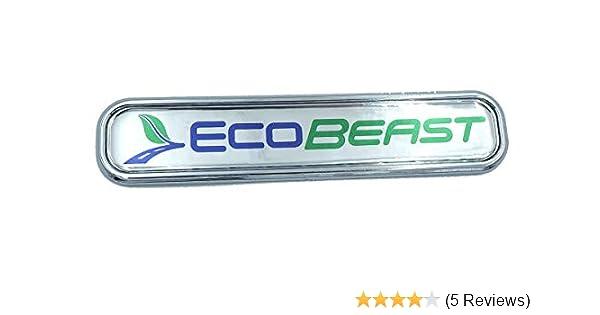 EcoBeast Ford Chrome Emblem 3D Decal car 5.3 ecoboost